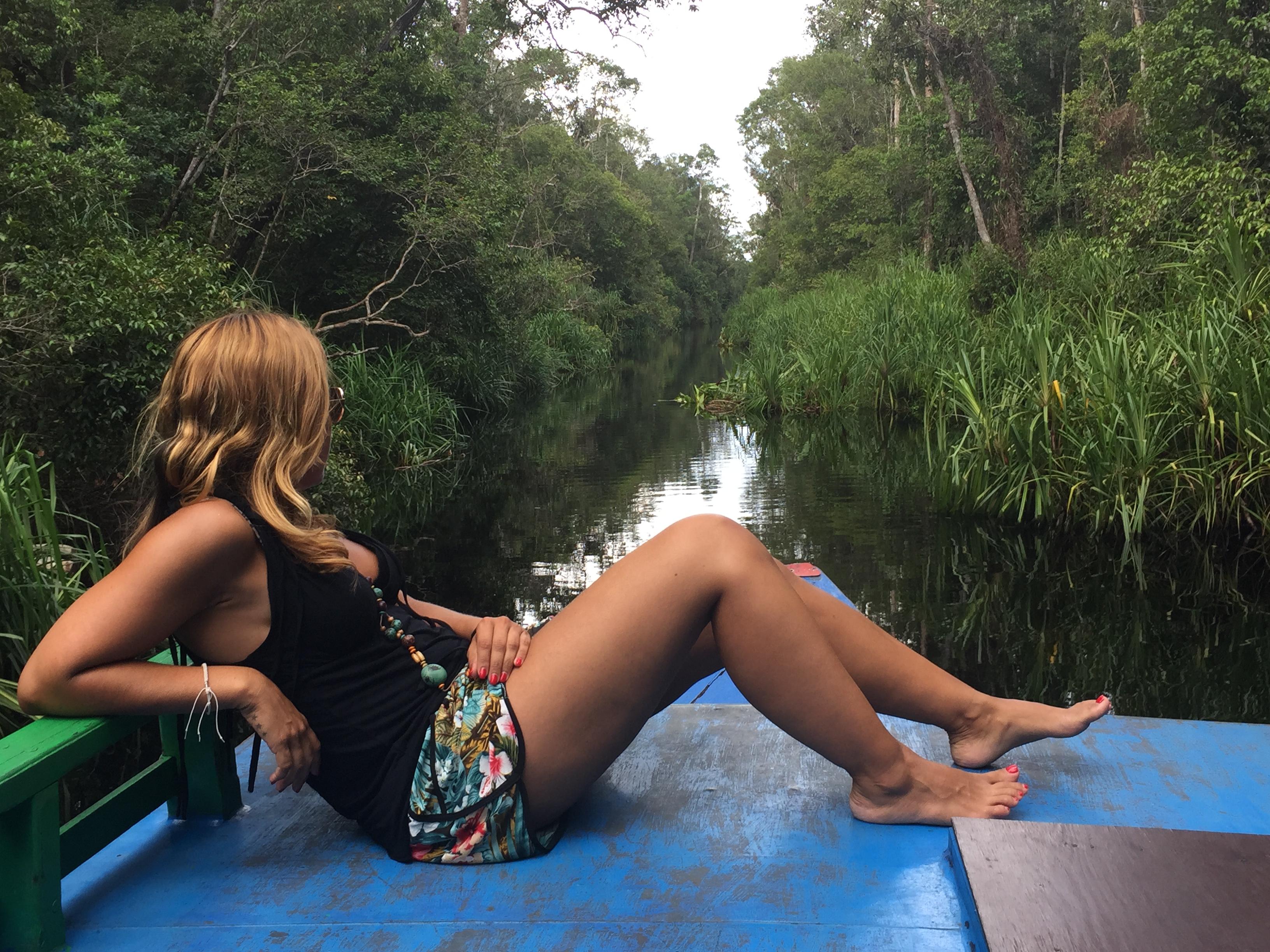 Excursión en klotok por Tajung Puting