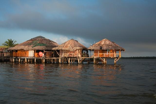 Cabañas en Laguna de Perlas
