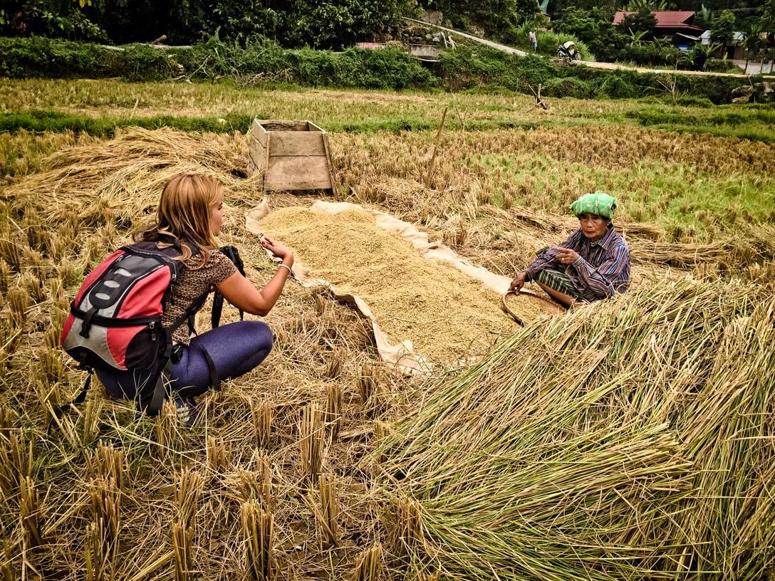 Campesinos de Sulawesi