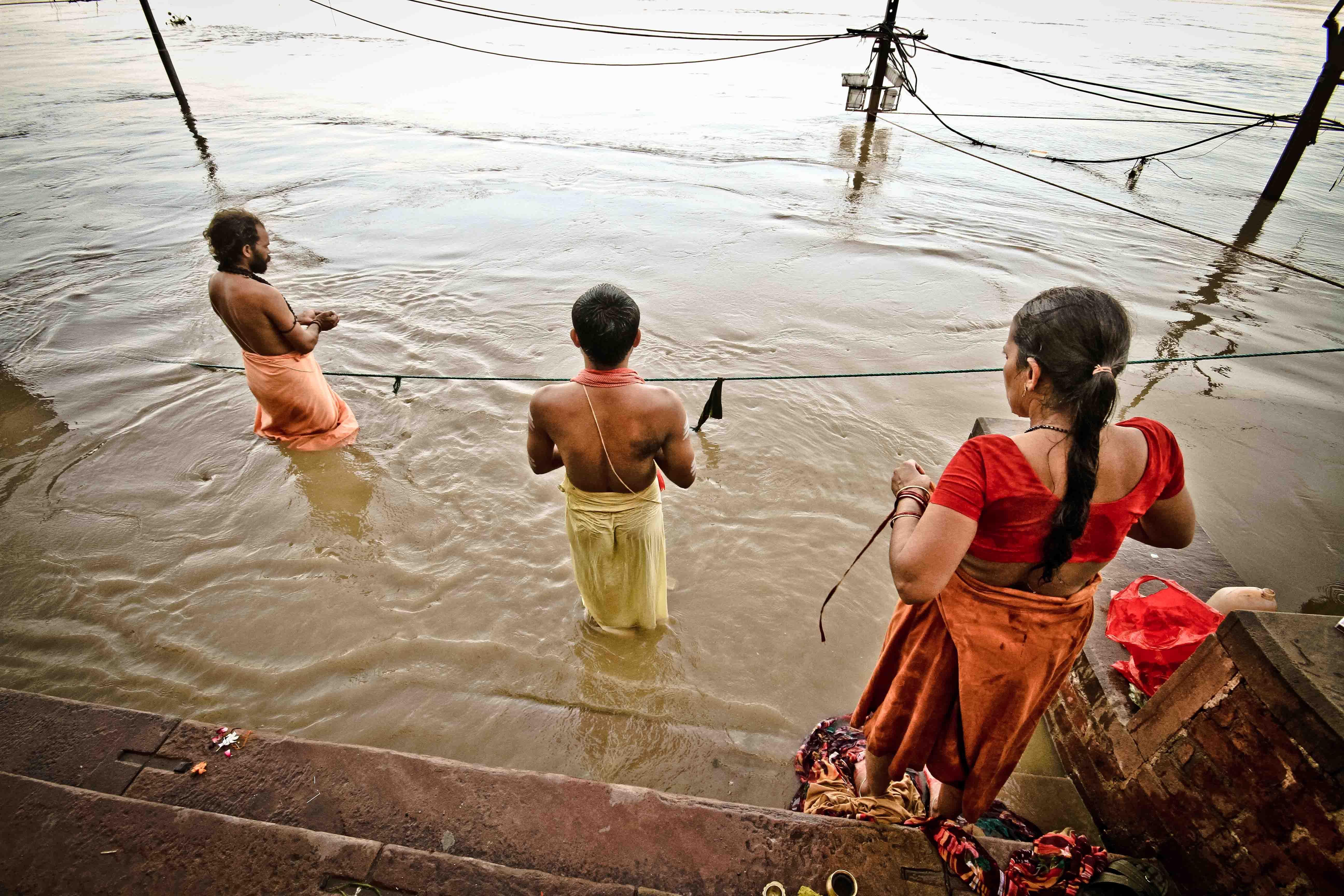 Ghats de Varanasi.