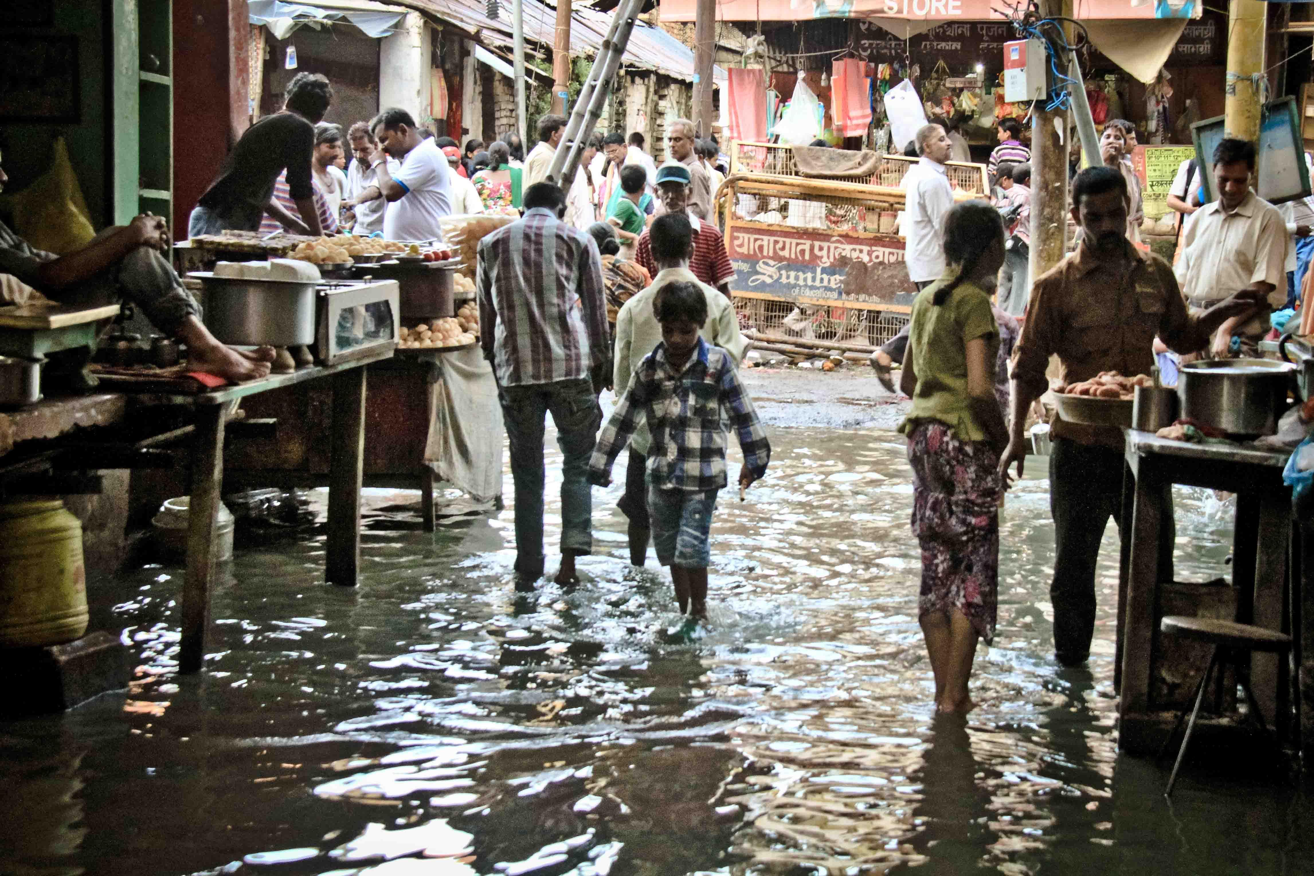 Calles de Varanasi.