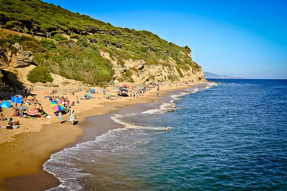 Playa Pequeña Lulú, Caños de Meca