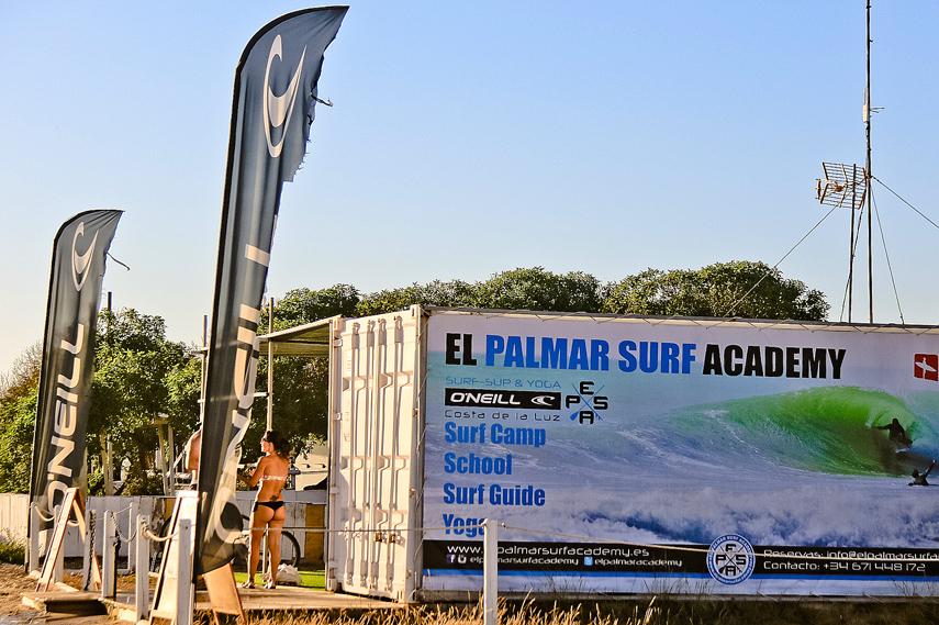 Escuelas de surf en El Palmar