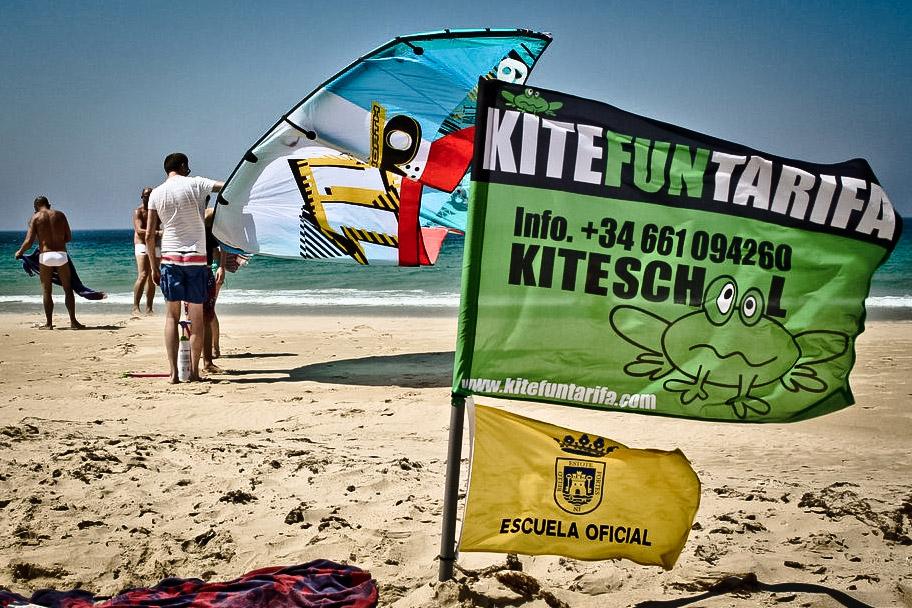 Escuelas de Kite en las playas