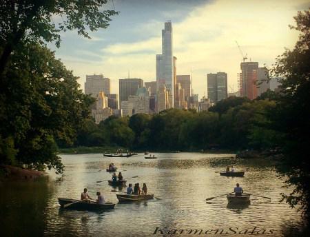 Lago en Central Park