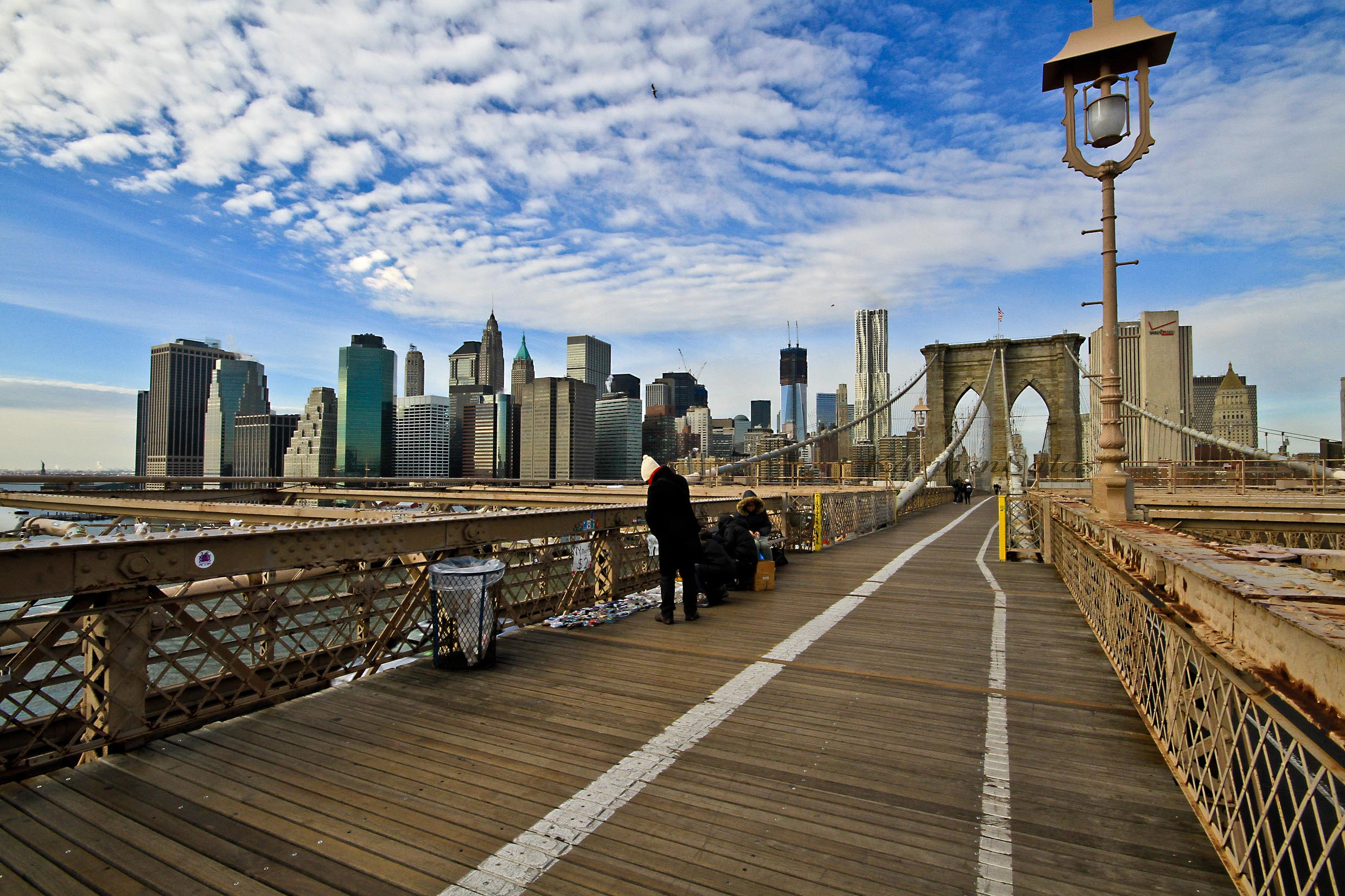 Vistas dede el puente de Brooklyn