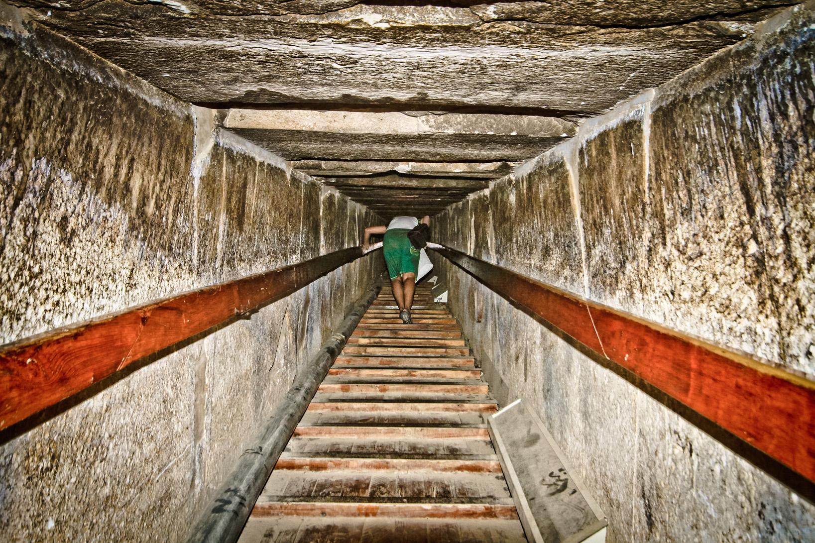 Entrada en Pirámide Roja