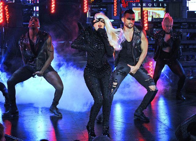 Actuación de Lady Gaga en Fin de Año en Time Square