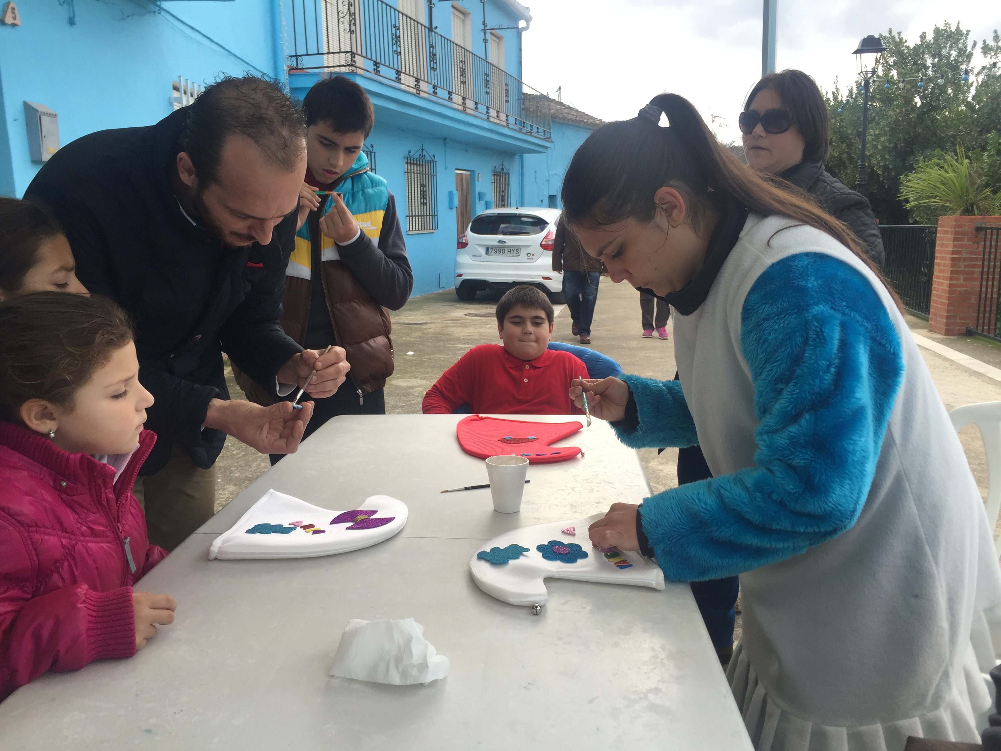 Actividades en el Pueblo Pitufo