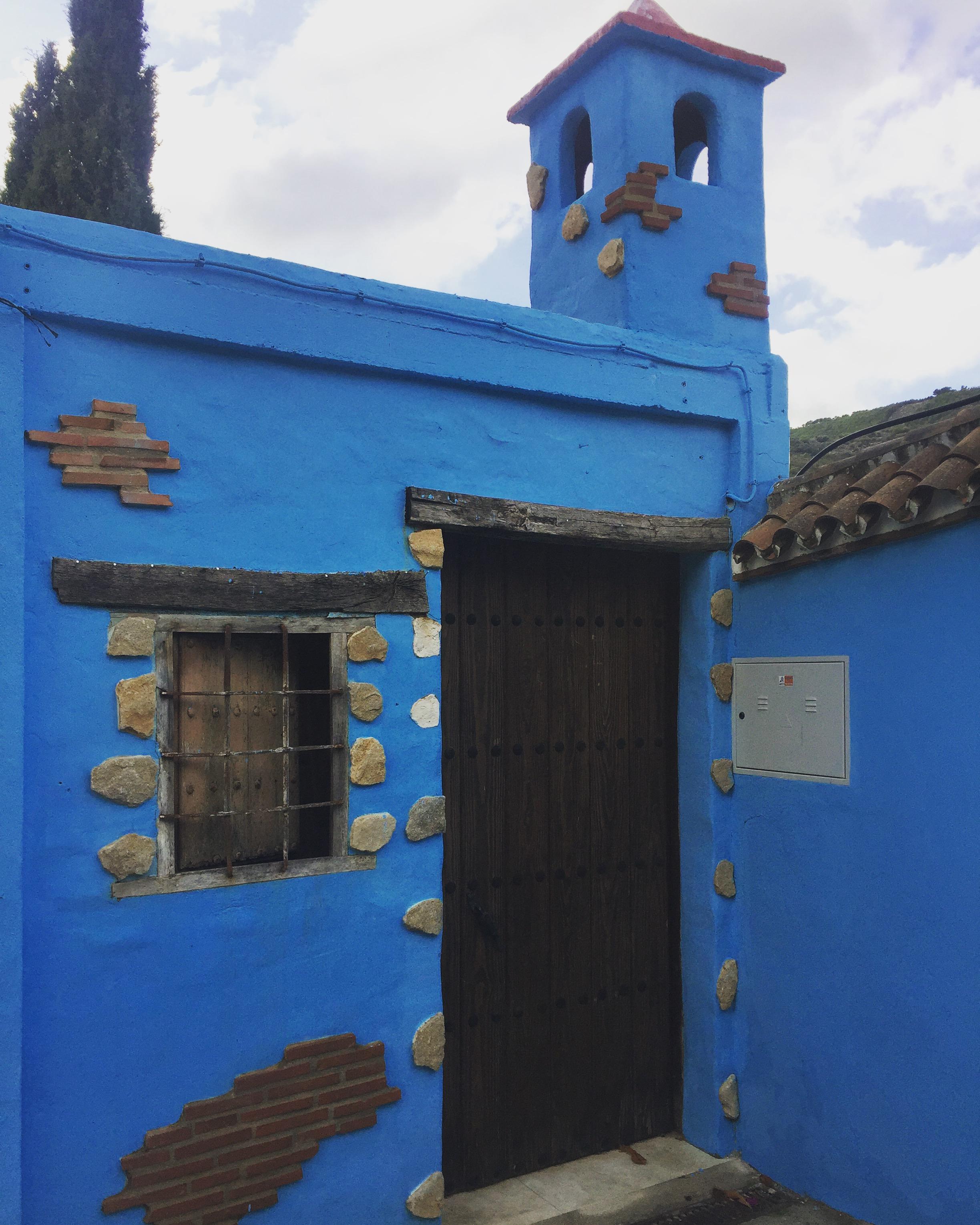 Casas azules de Júzcar