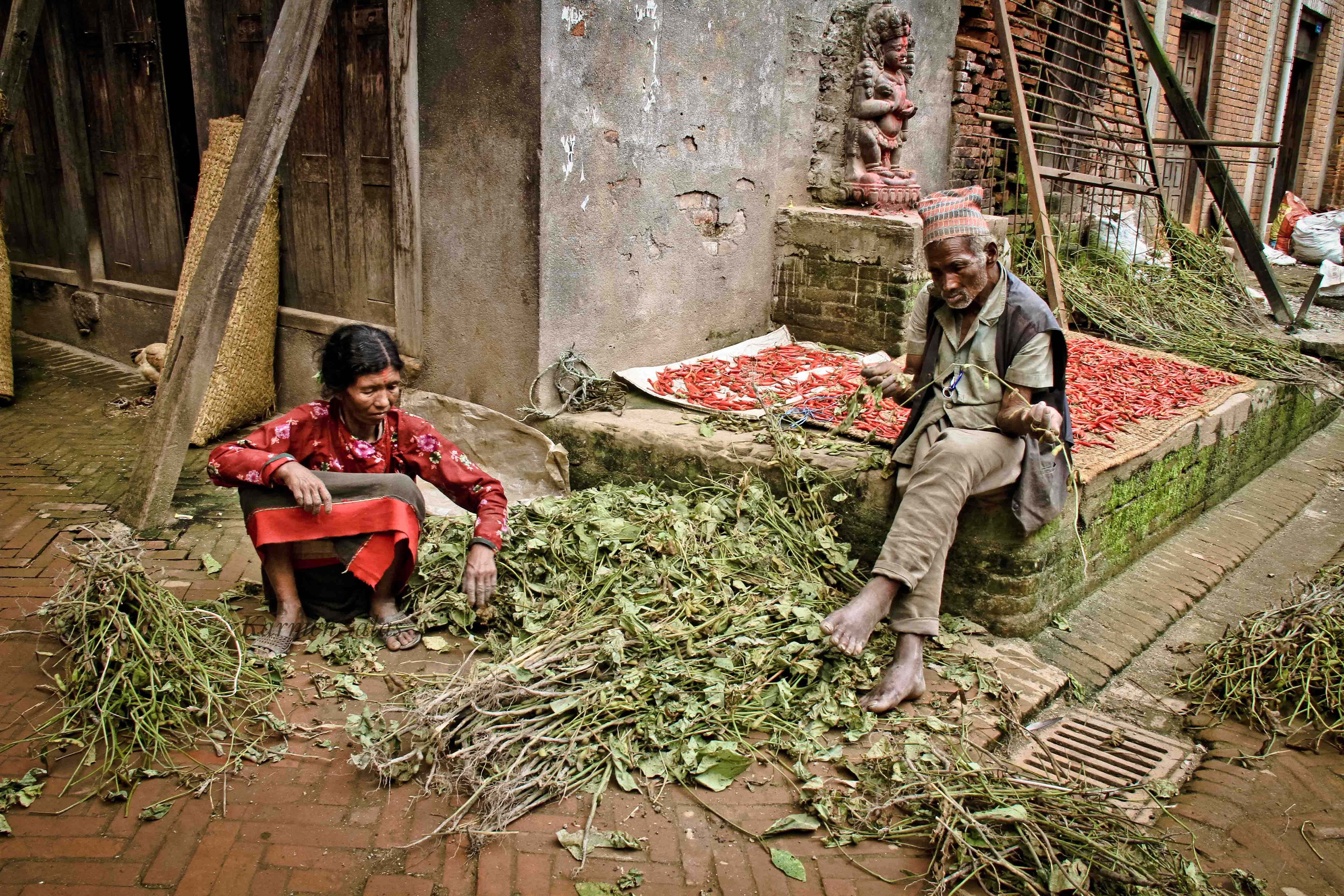 Callejones de Katmandú