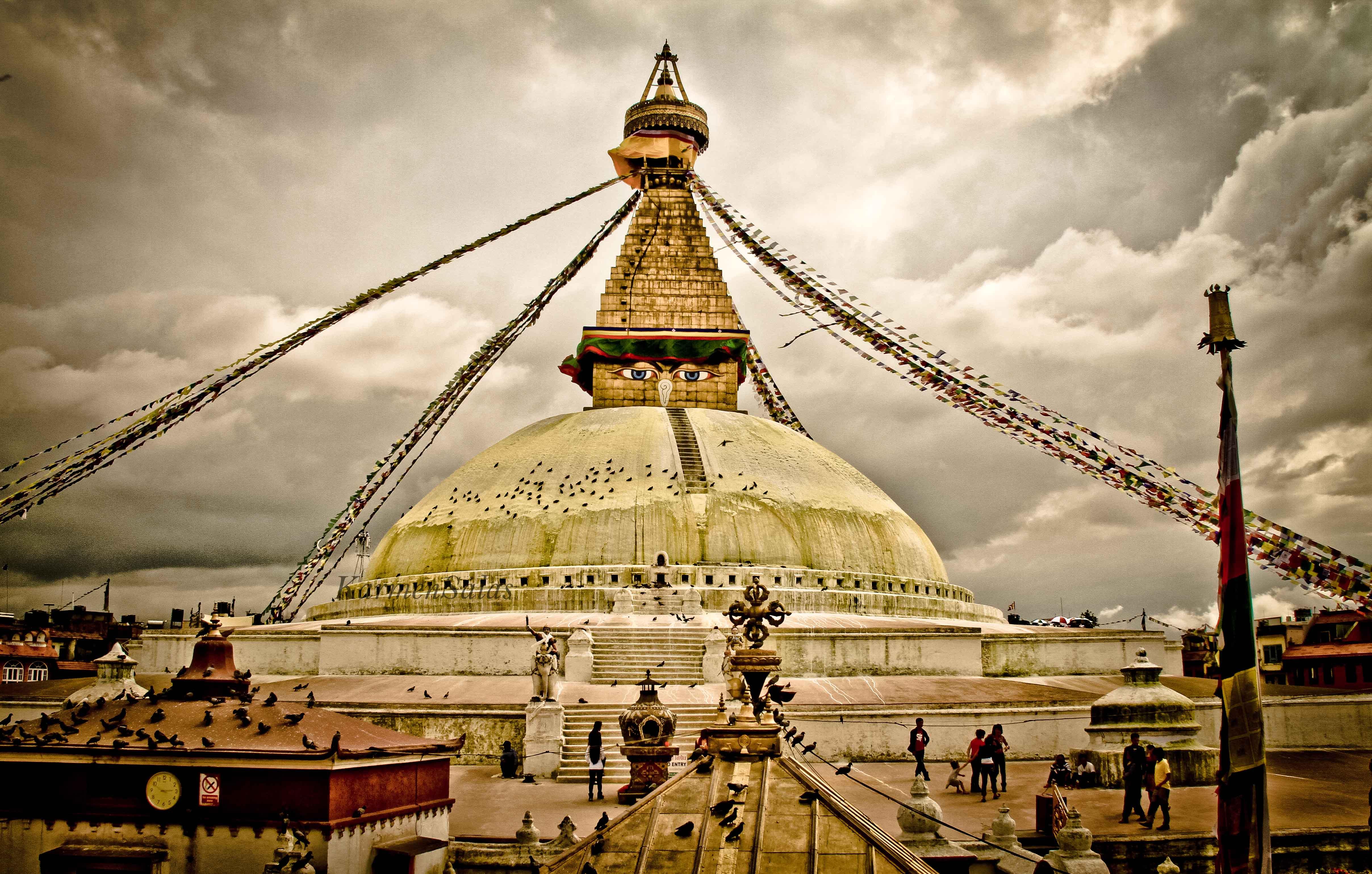 Boudhanath, la estupa más grande del mundo