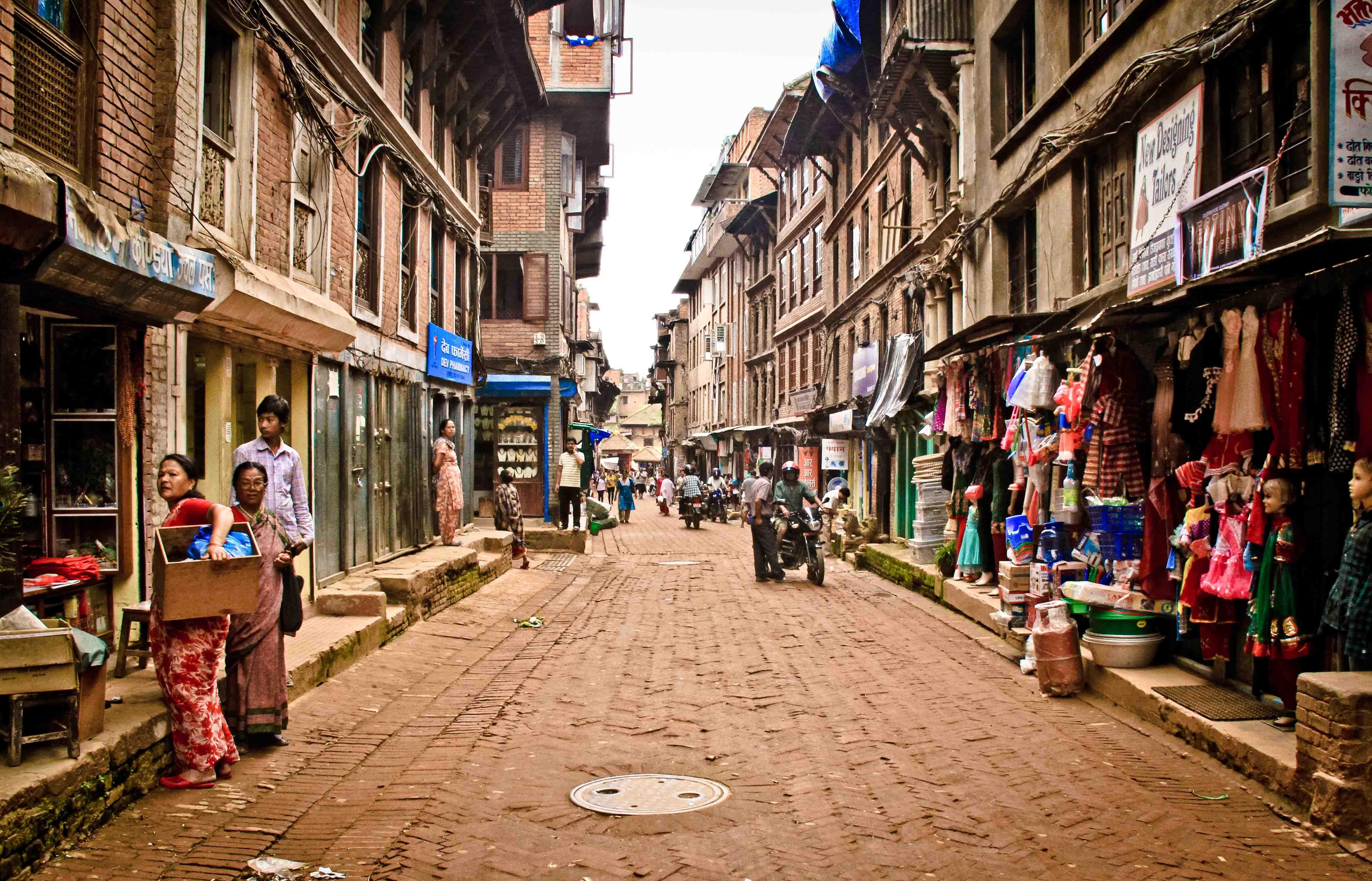 Calles de Patán