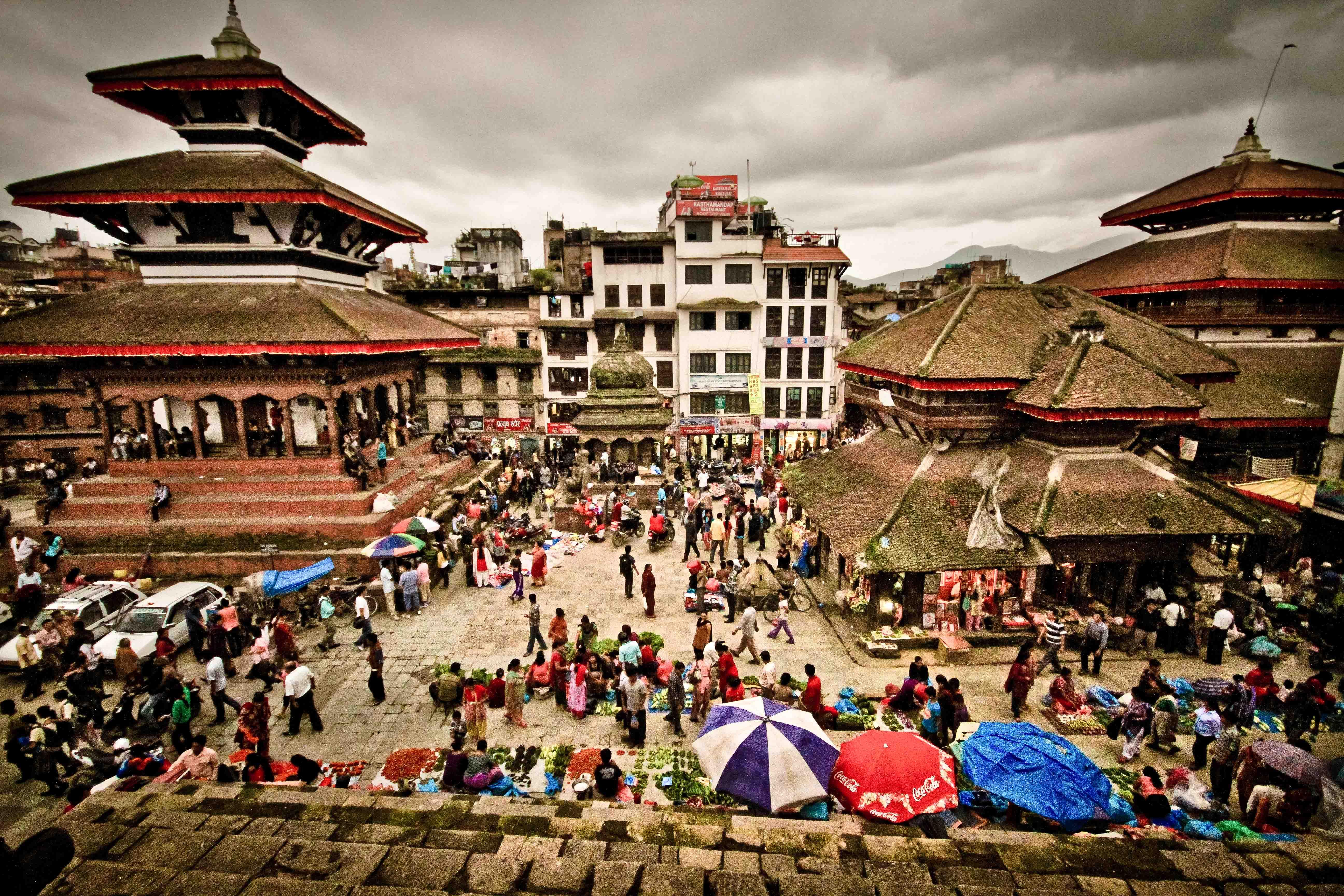 Dubar Square, Katmandú